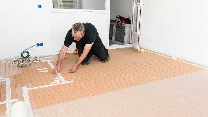 Verwarmen op ruimteniveau met elektrische vloerverwarming ...